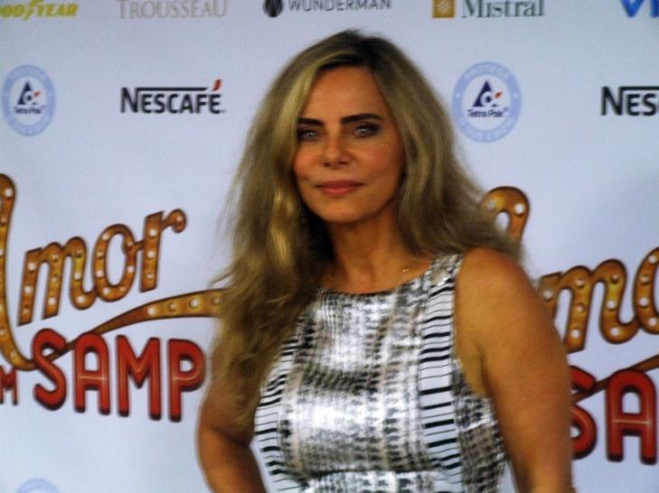 Bruna Lombardi, Amor em Sampa